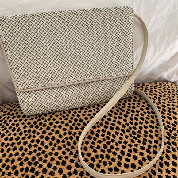 Vintage Handbags - Vintage Sequin Mesh Crossbody Bag
